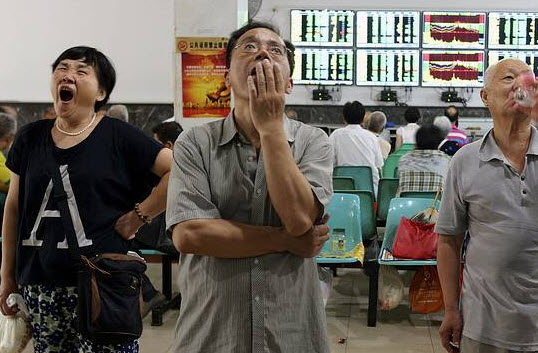 "China Crashes Most Since 2007 Amid ""Panic Sentiment"""