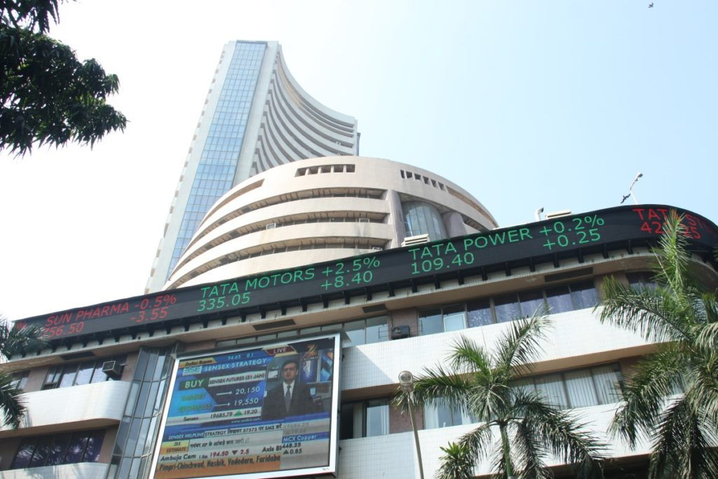 India : Sensex, Nifty marginally lower amid volatility; Midcap shines