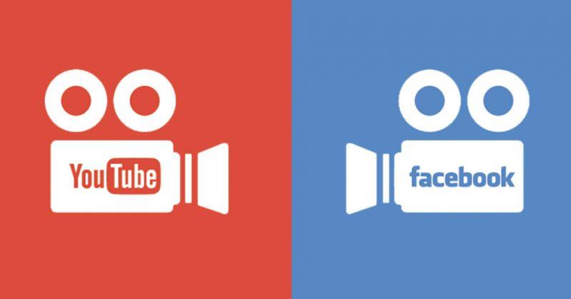 Google, Youtube, Facebook