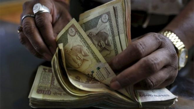 "India abolishes larger banknotes in fight against graft, ""black money"""