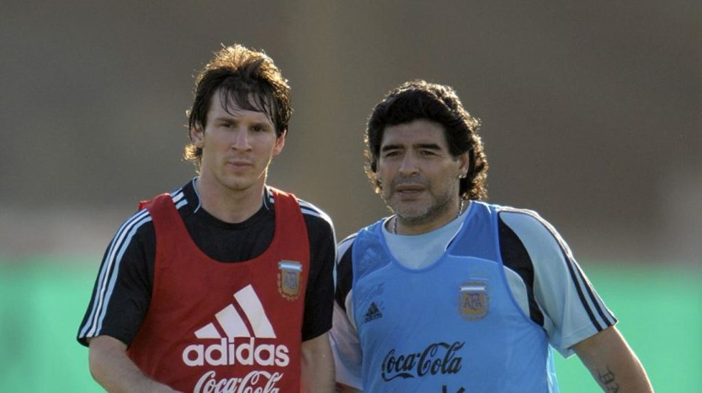 Maradona urges Messi to shelve plans to quit Argentina