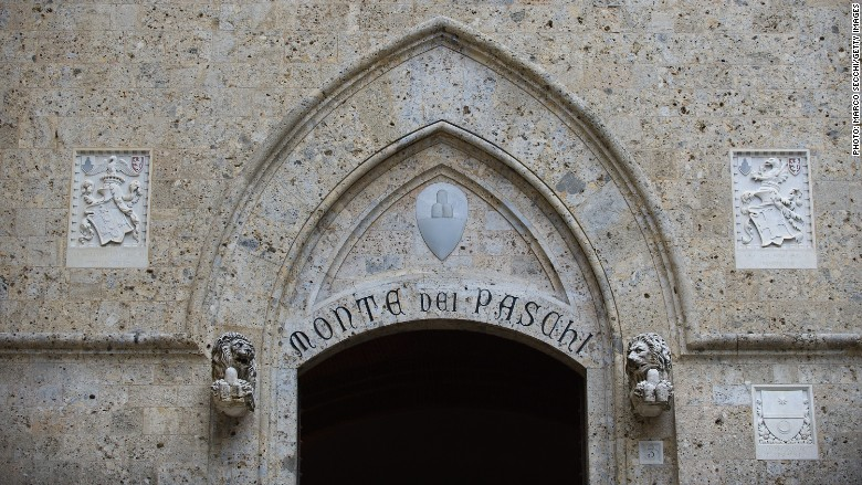 Italy : Oldest bank Monte dei Paschi gets 5 billion euro rescue