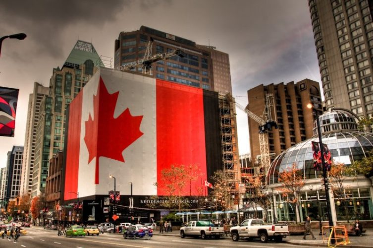 Did Canada signal the beginning of global recession?