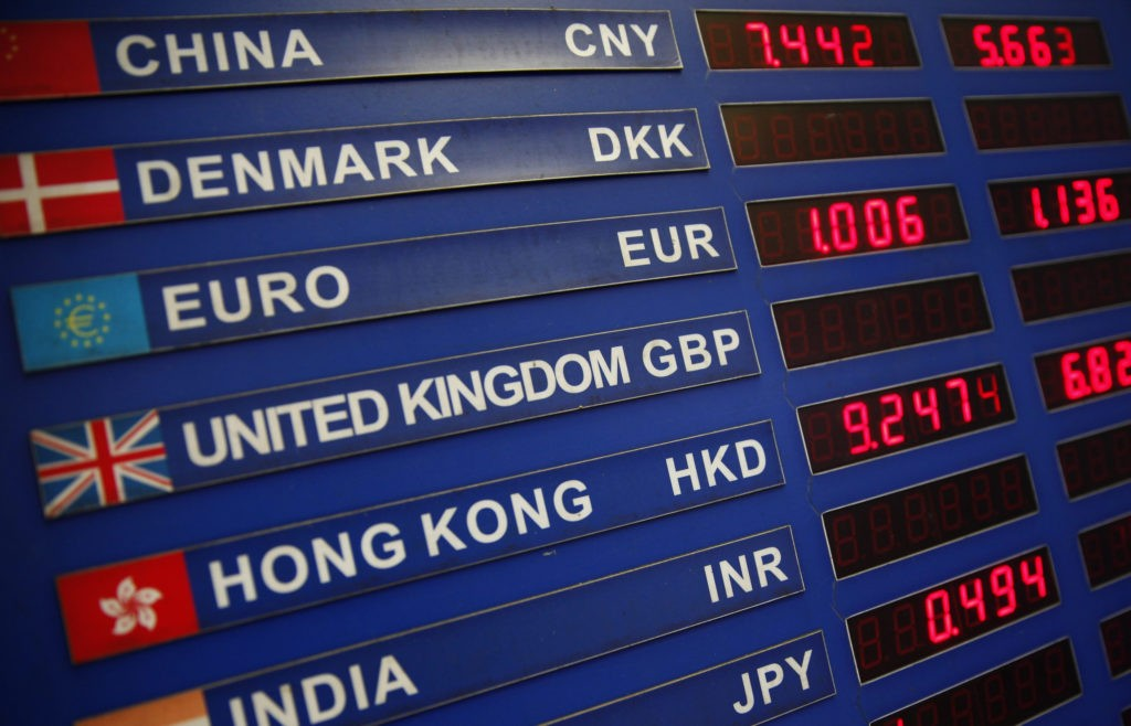 Live forex currency exchange rates