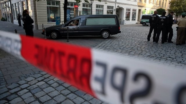 Germany : Syrian man dies carrying bomb, 12 wounded
