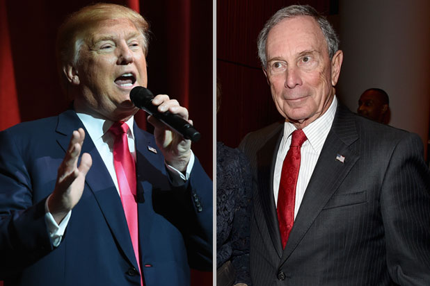 US : Michael Bloomberg Calls Donald Trump a Con Man