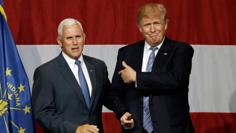 US : Trump to name Indiana Governor Mike Pence as running mate