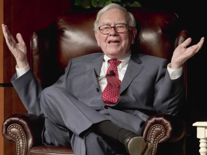 Warren Buffett Gave Away Another $2.8 Billion to Charities