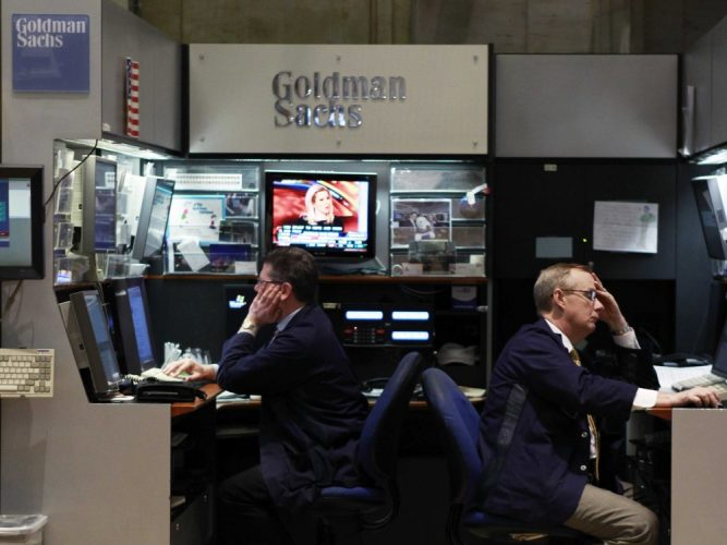 Goldman Sachs Warns Investors About 'Negative Growth Surprises'