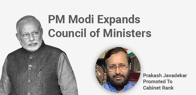 India : PM Modi Expands Council of Ministers