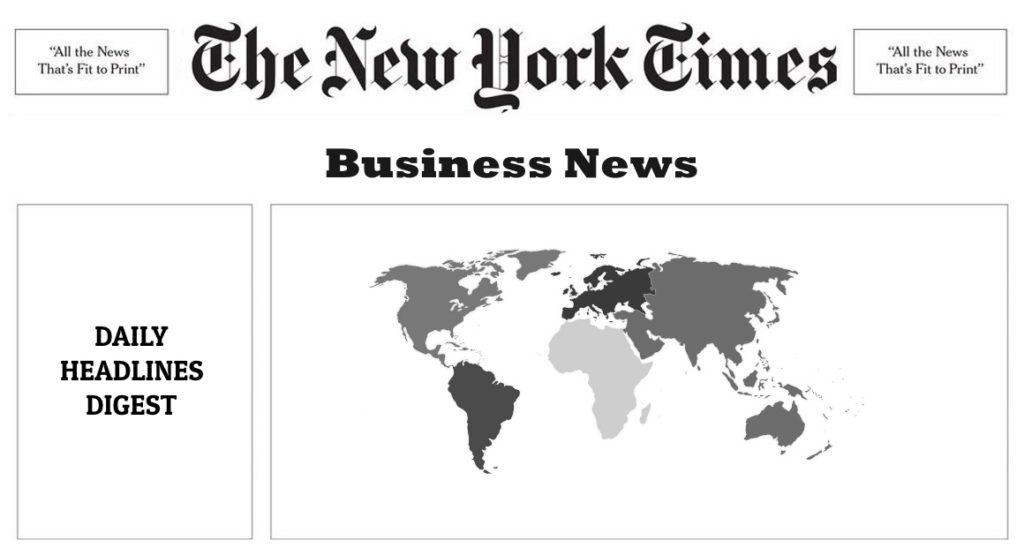 The New York Times Business News – 06 Jul 2016