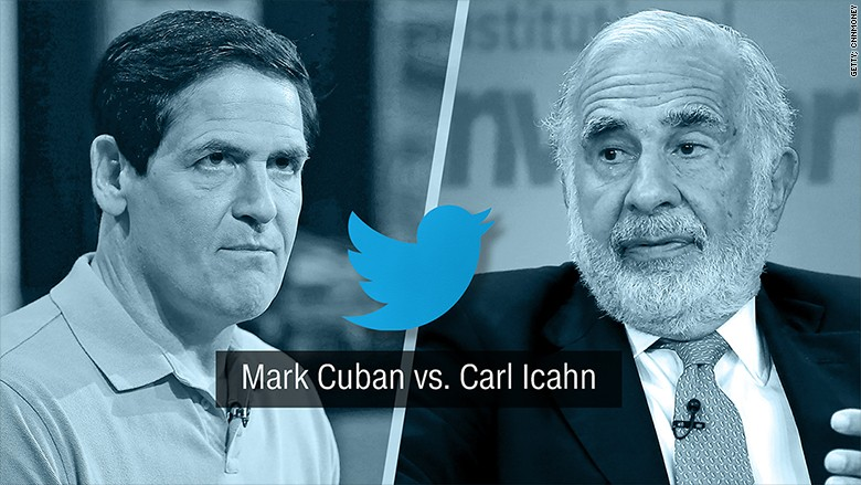 US : Mark Cuban in Twitter fight with Carl Ichan over Trump