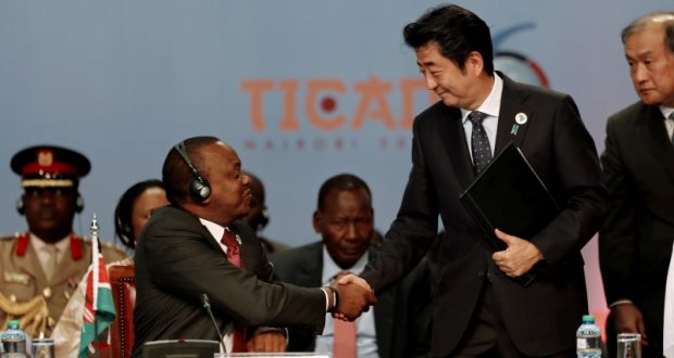 Japan pledges $30 Billion for Africa over next three years