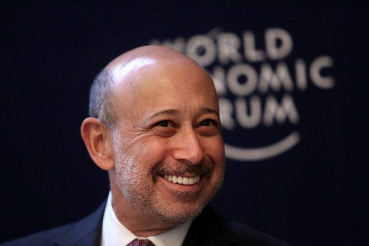 Goldman CEO Lloyd Blankfein Isn't Surprised by the Trump Rally