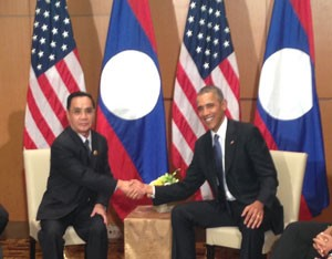 As Obama heads to Laos, signs of a tilt away from China