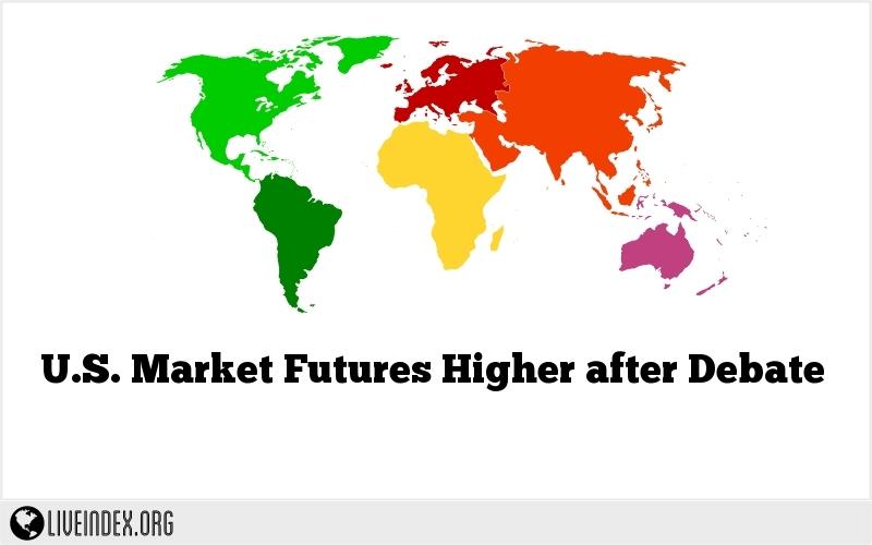 U.S. Market Futures Higher after Debate