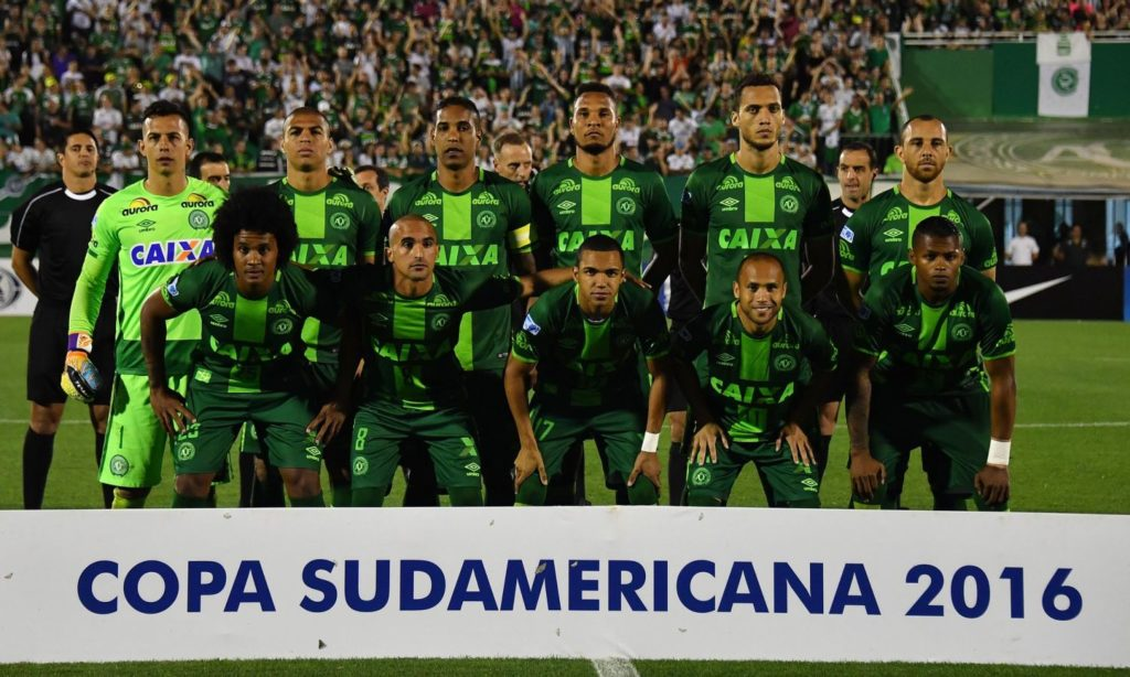 Plane with Brazil's Chapecoense soccer team crashes in Colombia, 75 dead