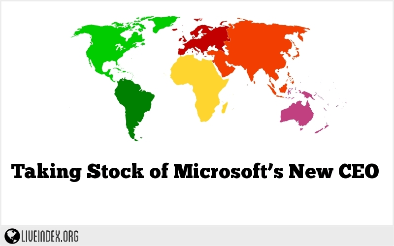 Taking Stock of Microsoft's New CEO