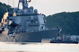Bodies of missing sailors found in flooded compartments of U.S. destroyer