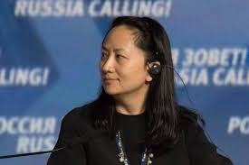 China says U.S. should withdraw arrest warrant for Huawei executive