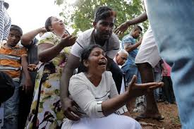 'We are shell shocked': Relatives bury dead in Sri Lanka amid new security fears