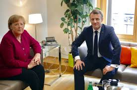 Merkel and Macron spar in hunt for 'Mr or Ms Europe'