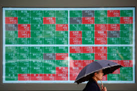 Asian shares a sea of red as Hong Kong chaos hits sentiment